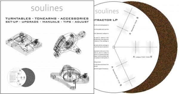 Soulines Plattentellerauflage aus Kork