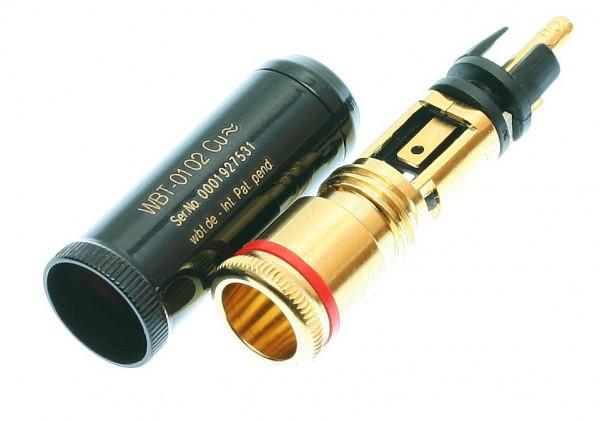WBT - 0102 Cu / Ag Cinchstecker
