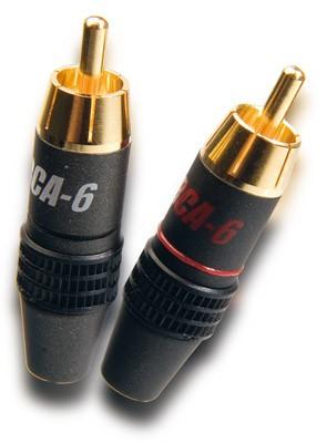 Supra RCA-6 Cinch Stecker