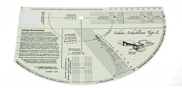 Schön Schablone Typ 2