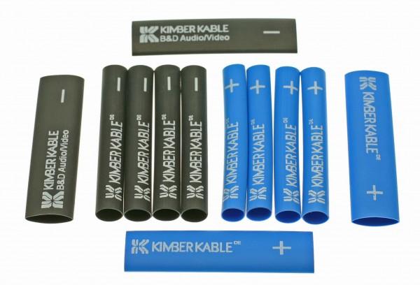 Kimber Schrumpfschlauch Blau/Schwarz 8x Small 4x Large