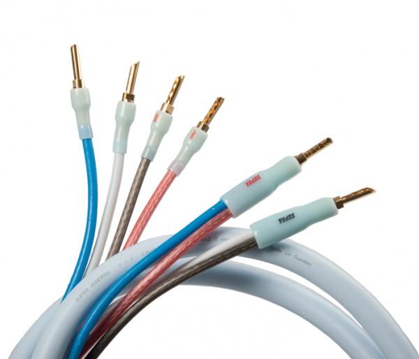 Supra Quadrax 2 x 2.0 Bi Wire - 2,0 m Mono