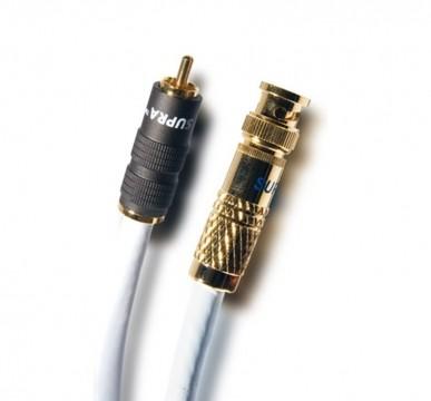 SUPRA Cables Trico RCA BNC Digitalkabel