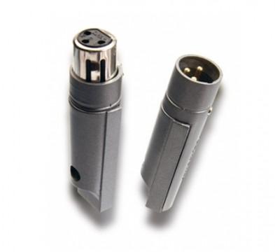 Supra Swift XLR Au Set XLR-Stecker und Buchse