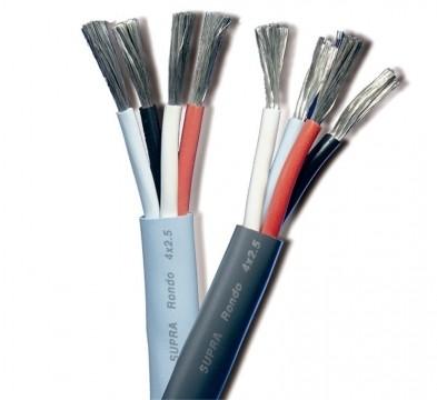 SUPRA Cables Rondo 4 x 2.5 Lautsprecherkabel